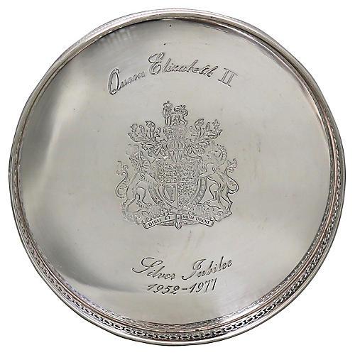 Queen Elizabeth II Jubilee Wine Coaster