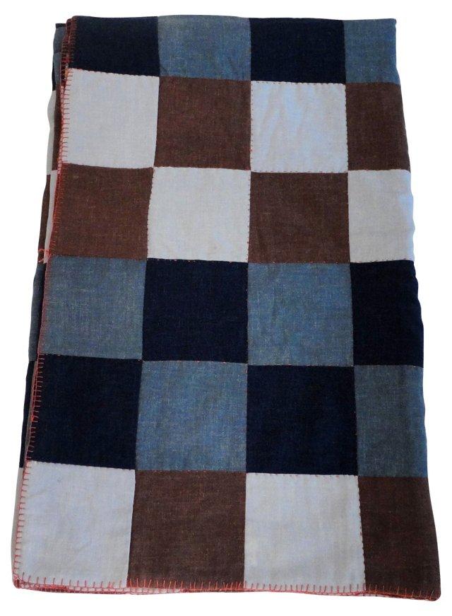 Iowa Amish Wool  Quilt