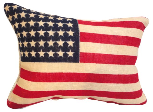 Parade- MiniFlag        Pillow