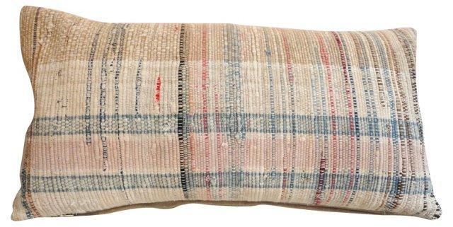 Pastel     Rag Rug Pillow