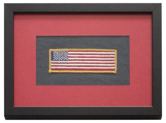 Framed Flag Pennant