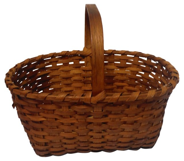 Early-19th-C. Basket