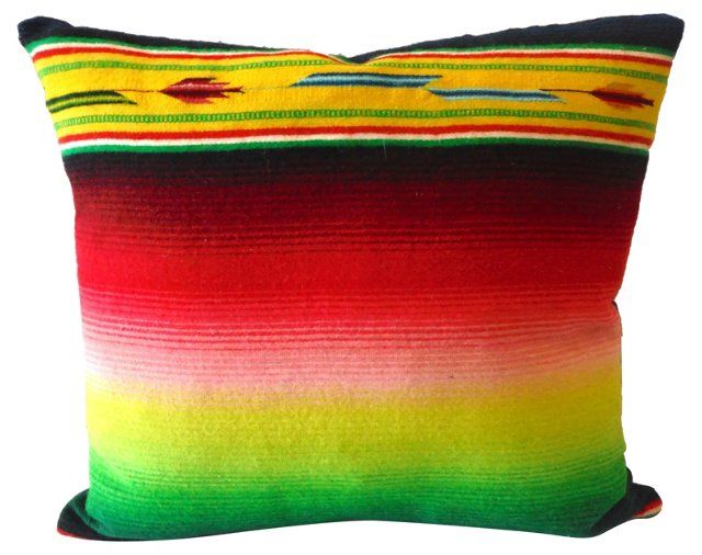 Serape     Weaving Pillow