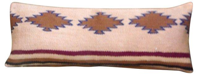 Navajo Weaving   Bolster Pillow