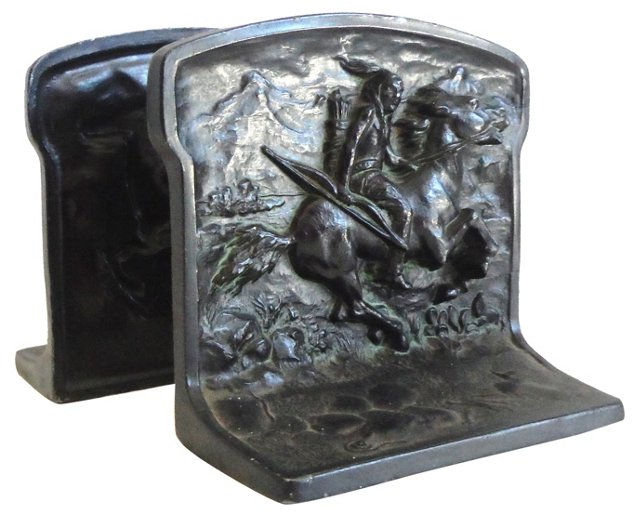 1924 Signed  Bookends