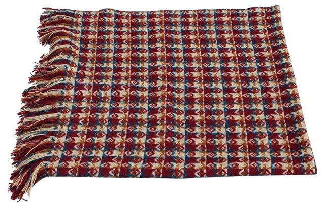 Wool Coverlet w/ Label