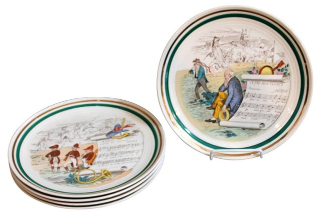 Parry Vieille Opera Plates, S/5