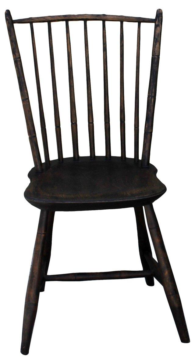 19th-C. NE Birdcage Windsor Chair