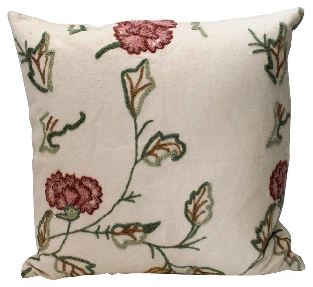 Pastel     Crewel    Pillow