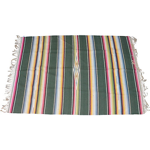 Striped Serape Blanket