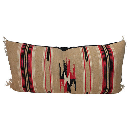 Serape Bolster Pillow