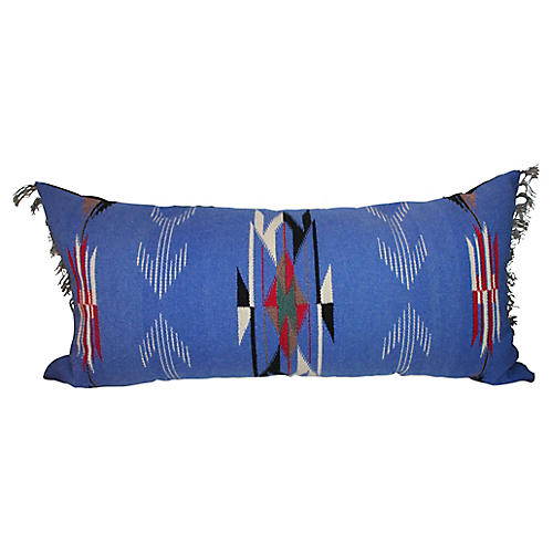 Large Serape Pillow w/ Fringe