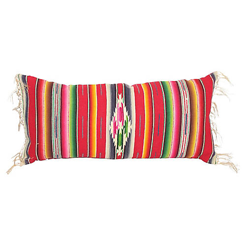 Serape Pillow w/ Fringe
