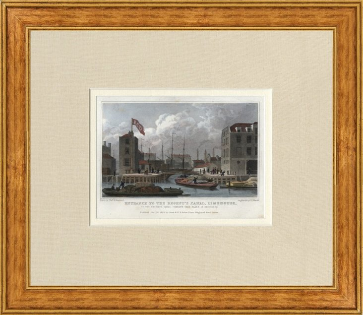 Engraved London View, 1828