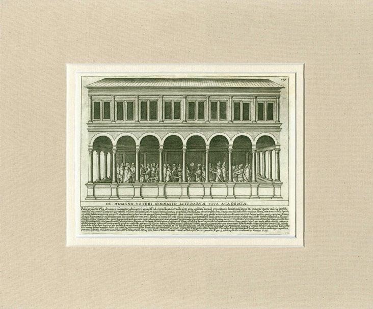 Architectural  Engraving, C. 1760