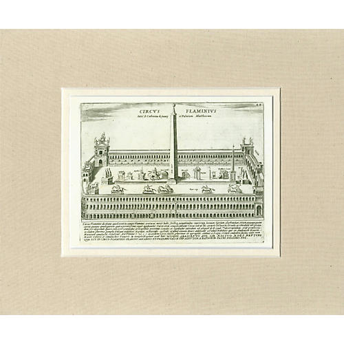 1760s Architectural Engraving