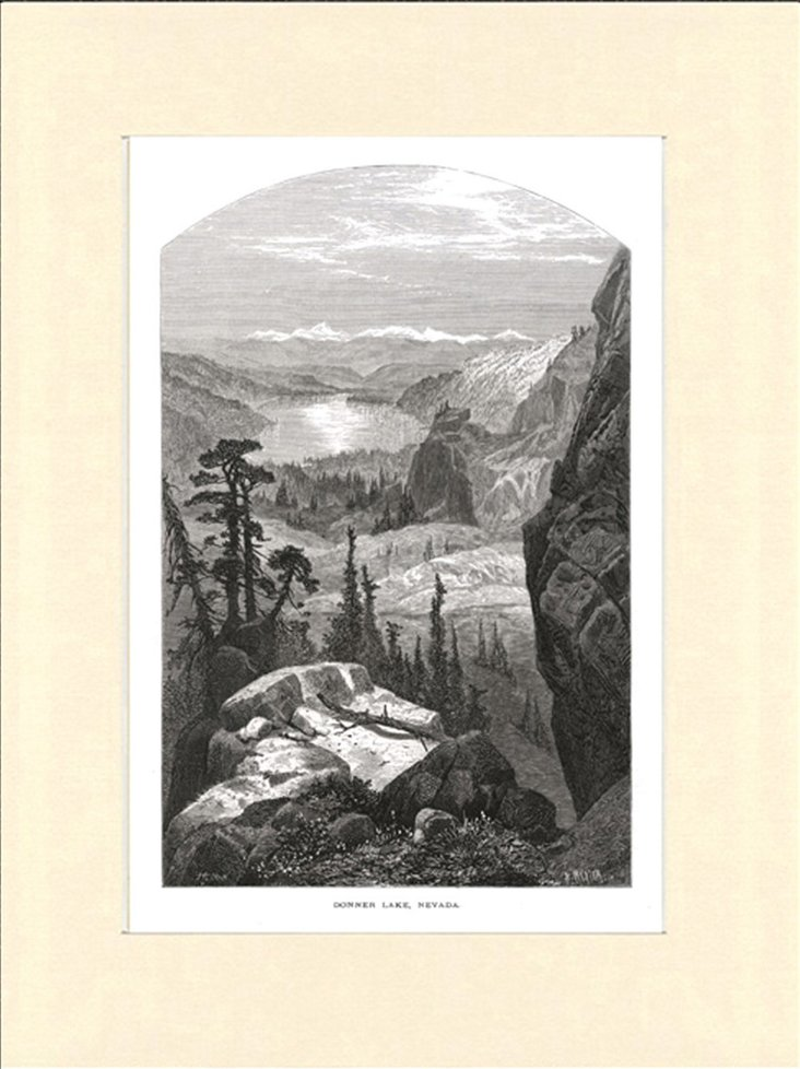Donner Lake, Nevada, 1874