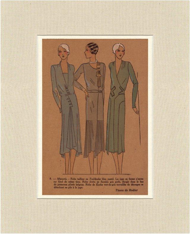 Très Parisien    Fashion Print, 1929