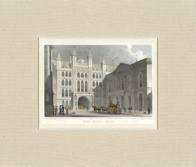 The Guild-Hall, London, 1828