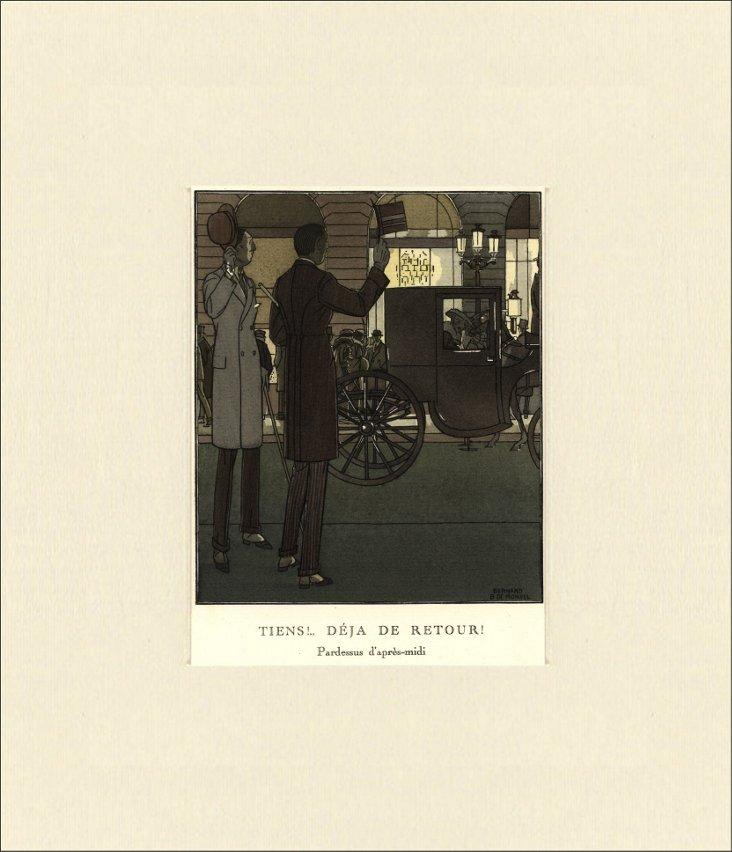 Gazette du  Bon Ton Print,  1913
