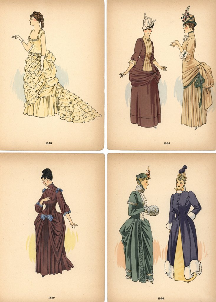 Fashion Prints,    C. 1890, S/4