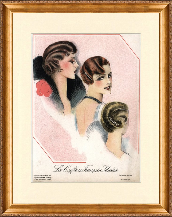 Women's  Hair  Fashion, C. 1920