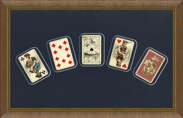 19th-C.  Playing Cards,  S/5
