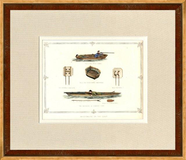 Wildfowling on the Coast, 1863