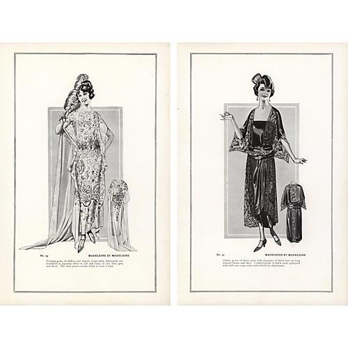 HauteCouture Fashion Prints, Pr, 1922