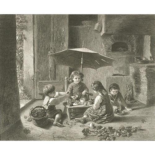 In the Vineyard, 1879