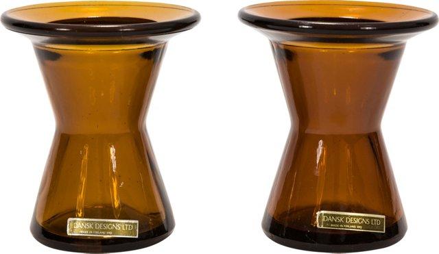 Dansk Candleholders, Pair