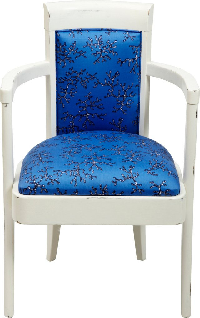 Armchair w/ Lilly Pulitzer Fabric
