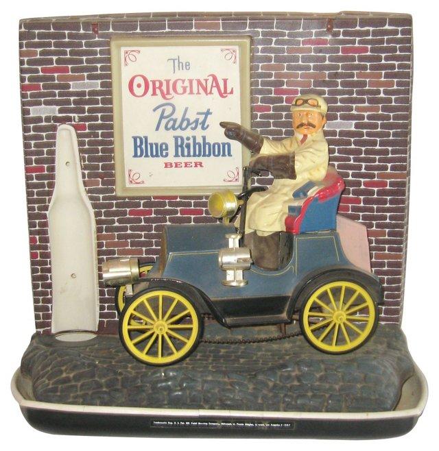 Pabst Blue Ribbon Bar Sign