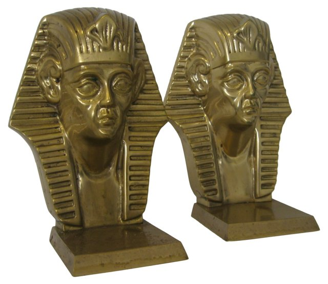 Egyptian Bookends