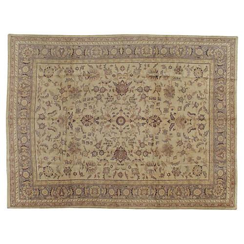 """Turkish Oushak Carpet, 8'11"""" x 11'8"""""""