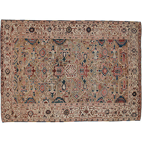 Antique Persian Rug, 8' x 11'1""