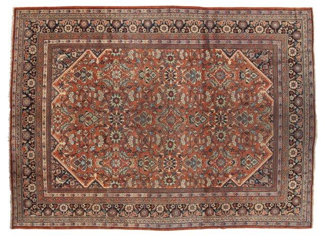 "Antique Sultanabad, 10'4"" x 14'"