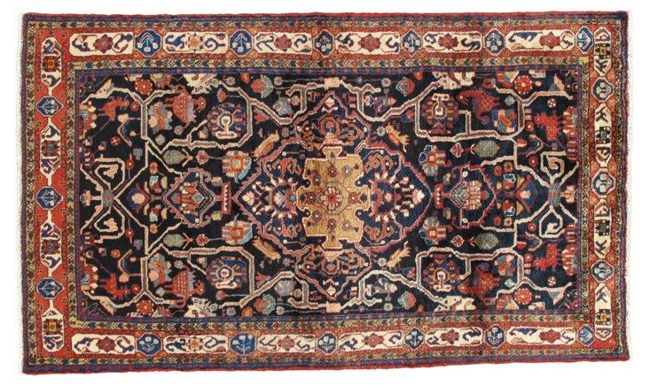 """Persian Rug, 4'9"""" x 9'"""