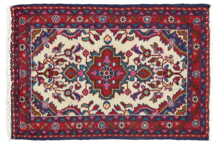 """Persian Rug, 1'10""""   x 2'7"""""""