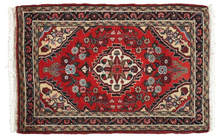"""Persian Rug, 2'2"""" x 3'2"""""""