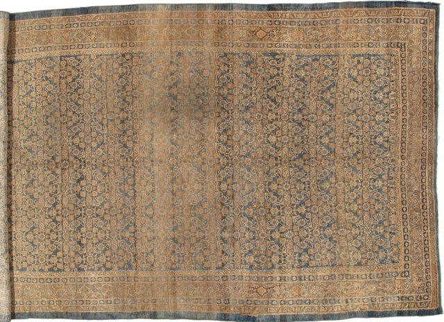 """Antique Sultanabad Carpet, 9'2"""" x 15'"""
