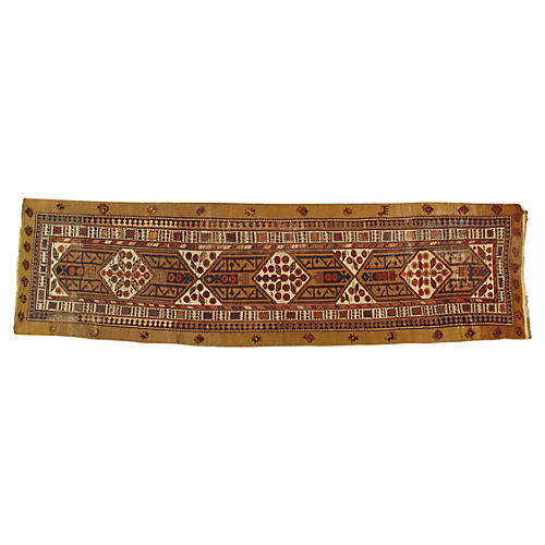 "Antique Serab Runner, 3'6"" x 12'7"""