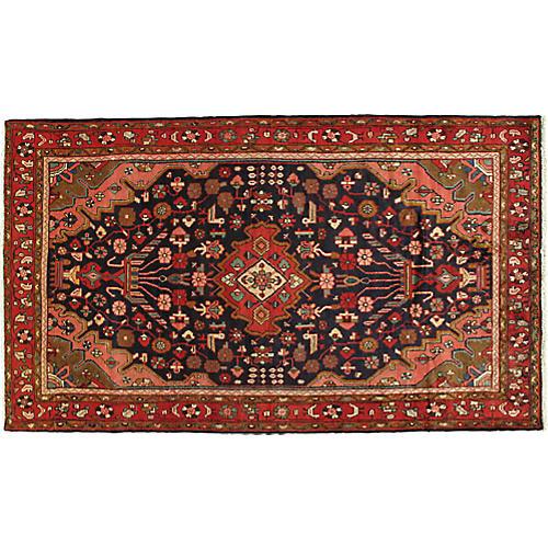 """Persian Rug, 4'9"""" x 8'2"""""""