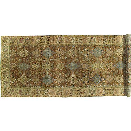 Antique Tabriz-Style Rug, 6' x 15'