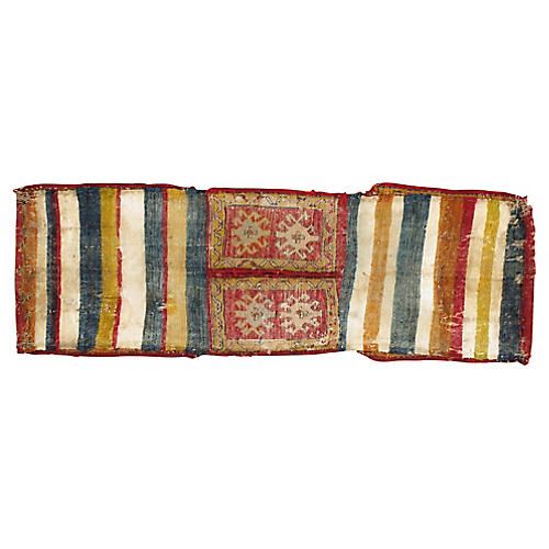 "Anatolian Saddle Bag, 1'6"" x 4'4"""
