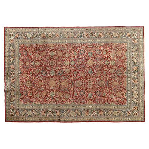 "Antique Tabriz Rug, 7'2"" x 10'6"""