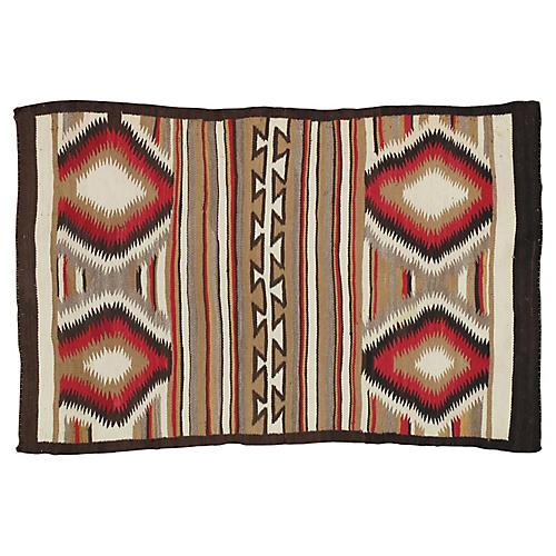 "Navajo-Style Rug, 2'10"" x 4'4"""