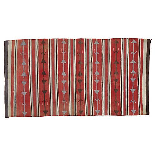 "Navajo-Style Rug, 3'9"" x 7'"