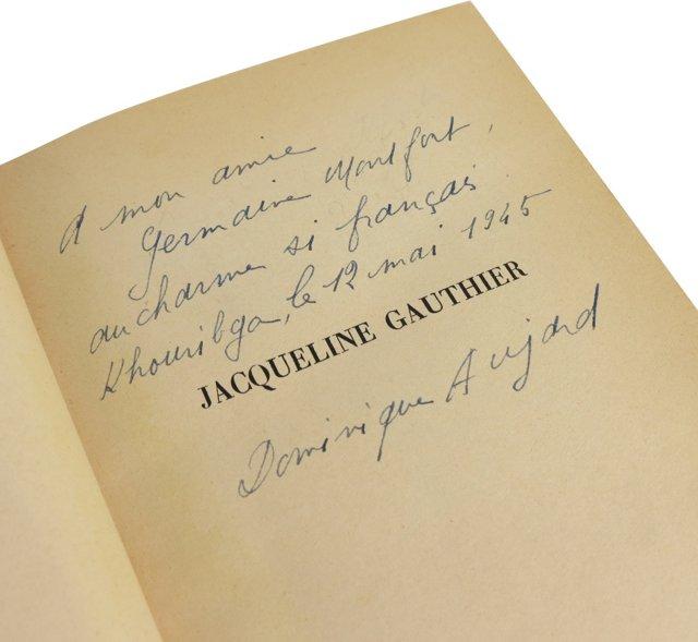 Dominique Aujard's Jaqueline Gauthier