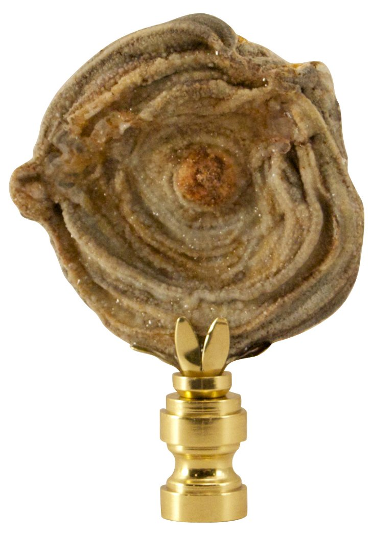Calcedony Rose     Finial